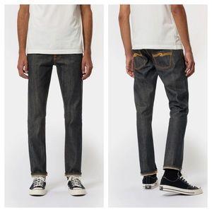 Nudie Grim Tim Dry Stretch Selvedge Jeans